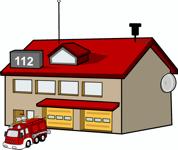 Eine Feuerwehr-Wache